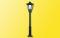 H0 Parklaterne, LED warmweiß (mit Patentsteckfuß)