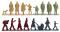 Wiking 001817 Zubehörpackung - Personengruppen