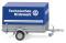 Wiking 005604 THW - Pkw-Anhänger