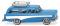 Wiking 007001 Opel Caravan 57 - hellblau/weiß