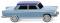 Wiking 009003 Fiat 1800 - pastellblau mit nachtblauem Dach