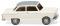 Wiking 012101 DKW Junior de Luxe - perlweiß mit grauem Dach