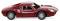 Wiking 016301 Porsche 904 Carrera GTS - purpurrot