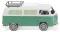 Wiking 031502 VW T2 Campingbus - mintgrün/weiß