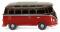 Wiking 031704 VW T1 Sambabus - braun/rot