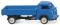 Wiking 033501 Tempo Matador Hochpritsche - blau