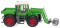 Wiking 038003 Fendt Xylon mit Ballengreife
