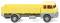 Wiking 041201 Pritschen-Lkw (Henschel HS 14/16) - gelb