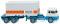 """Wiking 052601 Containersattelzug 20´(Henschel HS14/16) """"Henschel Fruehauf"""""""