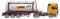 """Wiking 053602 Tankcontainersattelzug Swap (MB Actros) """"Bertschi"""""""