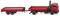Wiking 060130 Feuerwehr - Pritschenhängerzug (MAN F 90)