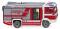 Wiking 061247 Feuerwehr - Rosenbauer AT LF (MAN TGM)