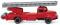 Wiking 062002 Feuerwehr - Drehleiter (Magirus S 3500)