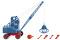 Wiking 066202 Seilbagger (Fuchs F 301) - brillantblau