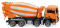 Wiking 068148 Fahrmischer (MAN TGS Euro 6/Liebherr) - orange