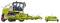 Wiking 077812 Claas Jaguar 860 Feldhäcksler mit Orbis 750 und Pick up 300
