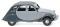 Wiking 080913 Citroën 2 CV Charleston - silbergrau/schiefergrau