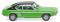 Wiking 082107 Ford Capri I - grün mit schwarzem Dach