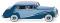 Wiking 083803 Rolls Royce Silver Wraith - blau