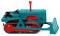 Wiking 084437 Hanomag K55 Raupenschlepper - wasserblau
