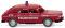 Wiking 086139 Feuerwehr - VW 411