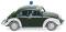 Wiking 086434 Polizei - VW Käfer 1200