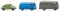 Wiking 090301 Ein Pkw und zwei Kastenwagen