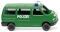 Wiking 093507 Polizei - VW T4 Bus