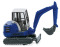 Wiking 094607 THW - Mini-Bagger HR 18